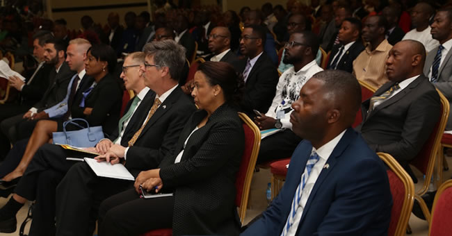 Photo: A cross section of guests at the U.S. Commercial Service/U.S. Consulate General 2017 NUSA award lecture in Lagos, Nigeria, August 16, 2017